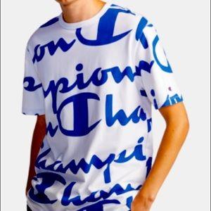 Champion Mens All Over Print T-shirt